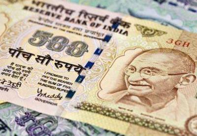 印度卢比对美元汇率跌至历史最低位