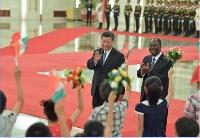 习近平同科特迪瓦总统瓦塔拉举行会谈  两国元首一致同意  推动中科关系迈向更高水平
