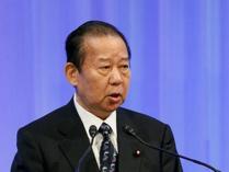 王毅会见日本自民党干事长二阶俊博