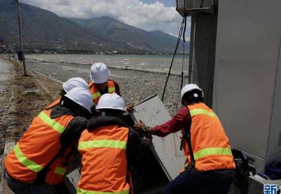 通讯:灾难面前,中印尼两国人民的心更近了——中国积极支援印尼救灾纪实