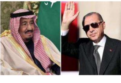 沙特国王致电土耳其总统强调两国保持稳固关系