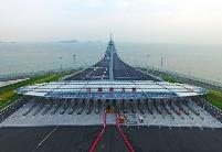 港珠澳大桥通车 再辟大湾区便捷通途