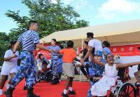 通讯:特别的爱,给特别的你——记和平方舟官兵探访安提瓜和巴布达儿童康复中心
