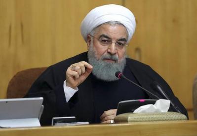 鲁哈尼总统称伊朗不会屈服于经济和心理压力