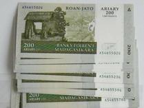 2019年马达加斯加法定货币阿里亚里或将继续贬值