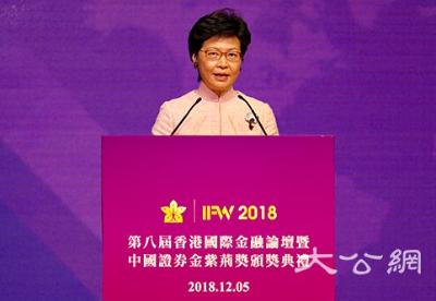 """香港国际金融论坛聚焦""""改革开放再出发"""""""