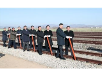 综合消息:朝韩铁路公路连接动工仪式有助于推动北南关系持续缓和