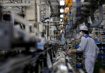 日本11月工矿业生产指数回落