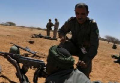 与非洲武装部队合作