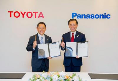 丰田和松下将成立车载电池公司