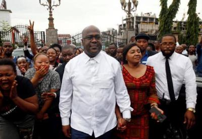刚果(金)新当选总统齐塞克迪宣誓就职