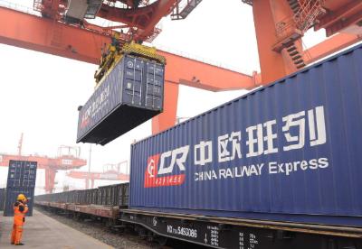 天津海关2018年共监管中欧班列出口81列、7329标箱