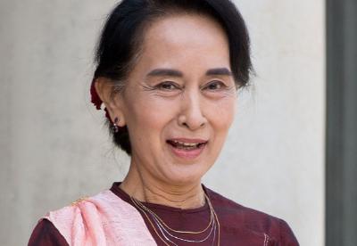 """昂山素季说""""一带一路""""对缅甸有益"""