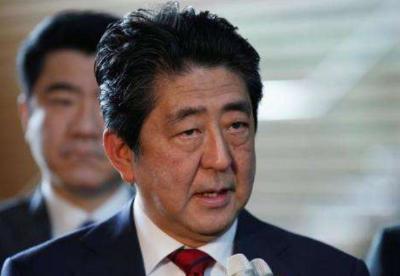 安倍说将强化日本的抗灾能力