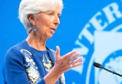 国际货币基金总裁敦促欧元区成员国强化银行体系
