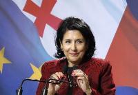 格鲁吉亚总统说格寻求加入欧盟和北约的选择不变