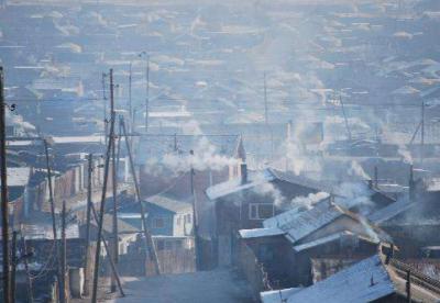 数据显示蒙古国首都空气污染加剧