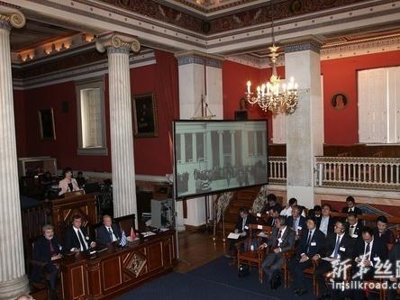 首届中国-希腊高等教育论坛在希腊举行