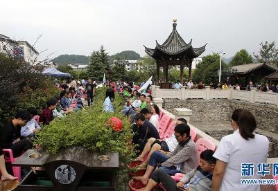 江西宜春:特色温泉助推小镇旅游发展
