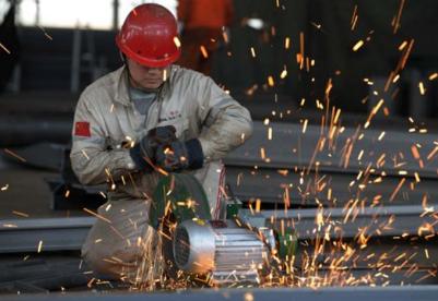 5月份中国制造业采购经理指数为49.4%