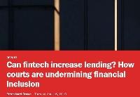 法院如何影响金融包容性?