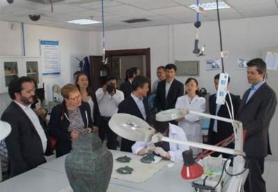 法国与陕西省联合进行文物保护研究及人才培养