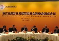 全球服务贸易展望委员会筹委会圆桌会议在京举行