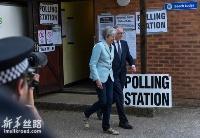 欧洲议会选举投票在英国、荷兰举行