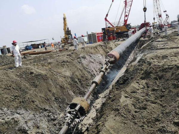 中石油管道局孟加拉国单点系泊项目取得重要进展