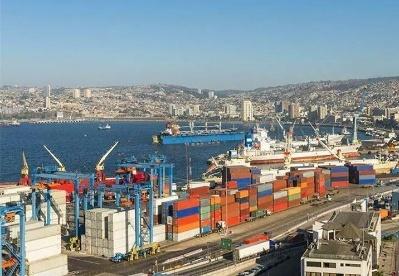 智利1-4月出口下降5.4%