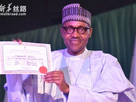 尼日利亚连任总统布哈里宣誓就职