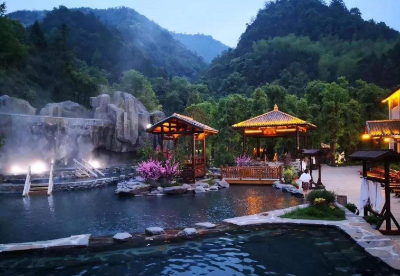 江西探明温泉数量居全国第六 两处中国温泉之乡