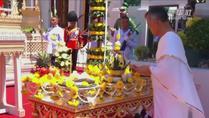 泰国国王加冕典礼在曼谷大王宫举行