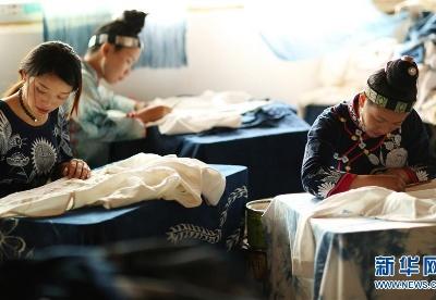"""贵州丹寨:""""指尖经济""""绘制脱贫蓝图"""