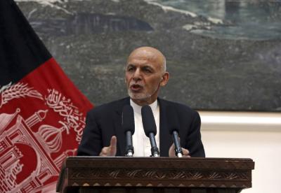 """阿富汗总统加尼:共建""""一带一路"""" 推进阿中合作"""