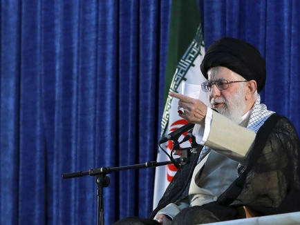 哈梅内伊呼吁伊朗国民继续抵抗美国压力