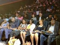"""""""'一带一路' 连通世界""""2019中国电影节在阿布贾开幕"""