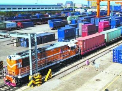 中欧班列(成都-莫斯科)运贸一体化班列实现每月25列稳定开行