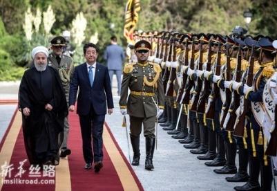 安倍说日本愿为缓解中东地区紧张局势发挥作用