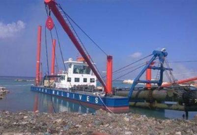 中国公司完成乌克兰一港口疏浚工程