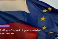 欧盟俄罗斯峰会迫在眉睫