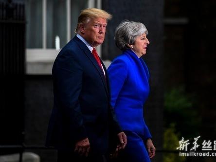 特朗普称愿与英国商签双边贸易协定