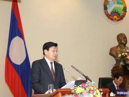老挝总理在国会报告表示经济面临难点