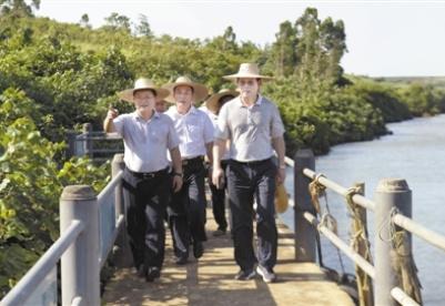 精心统筹规划对接 打造滨海旅游品牌