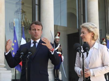 法国和欧盟领导人期待与约翰逊进行建设性对话