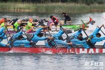 """""""一带一路""""国际龙舟节在立陶宛举行"""