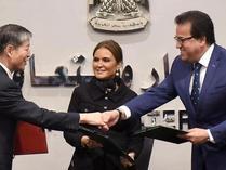 中国与埃及签署应用技术学院设备项目立项换文