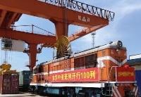 金华—中亚班列开行满100列:钢铁驼队构筑贸易新通道