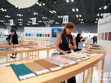中国纺织品服装贸易展览会在纽约开幕
