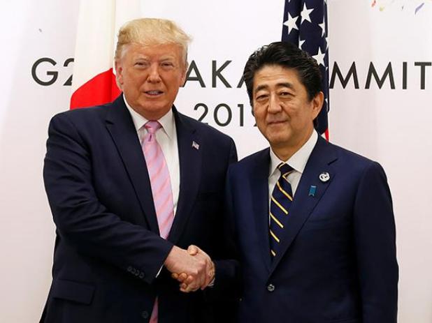 特朗普敦促日本尽快完成美日贸易谈判